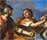 vue d'artistes du mausolée de Cecilia Metella