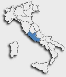 latium en italie