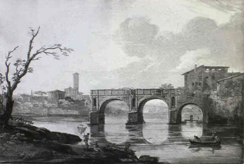 Giovanni Battista Busiri, Ponte Rotto