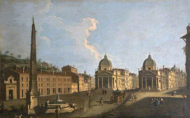 Canaletto, Place du Peuple