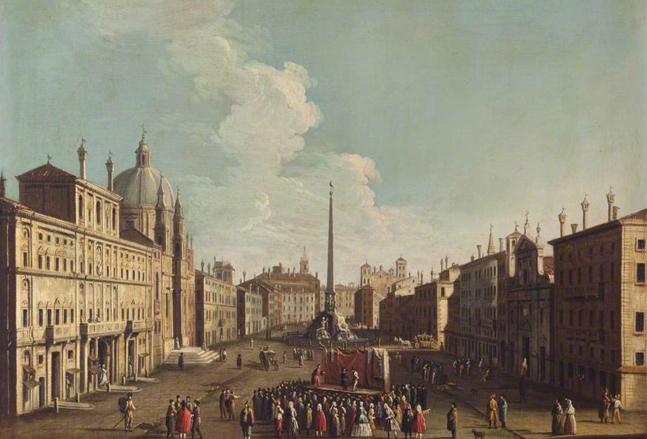 Canaletto, Place Navone