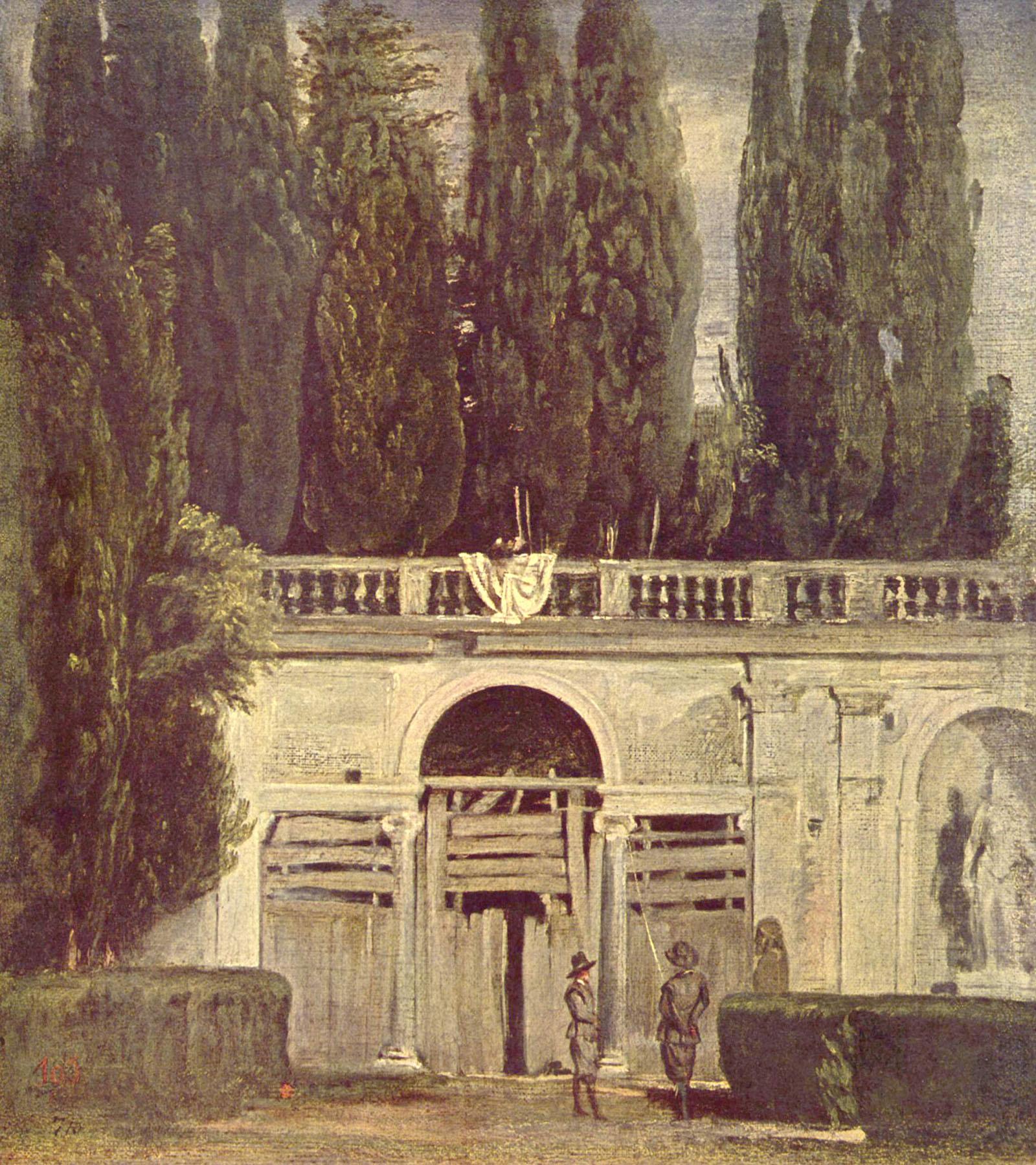 Vues d artistes Villa Médicis  Rome