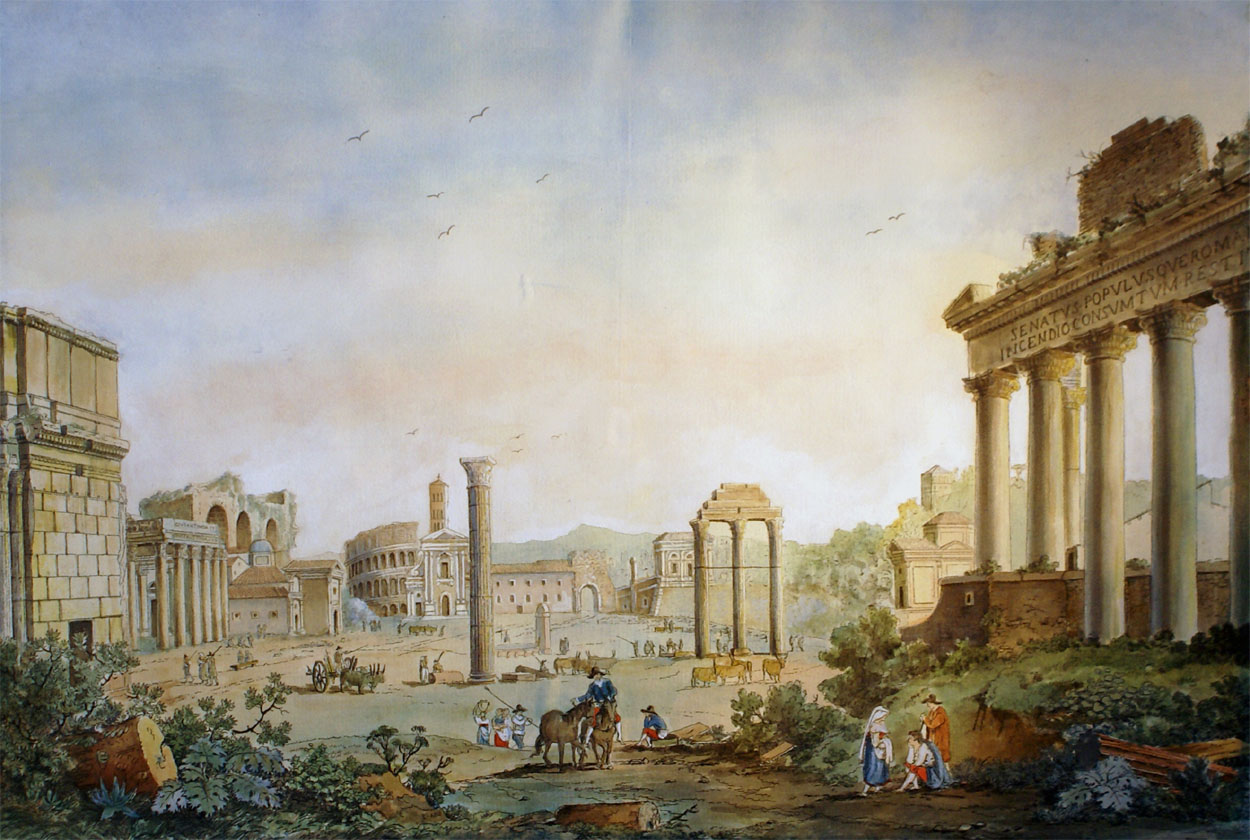 Franz Kaiserman, Forum romain