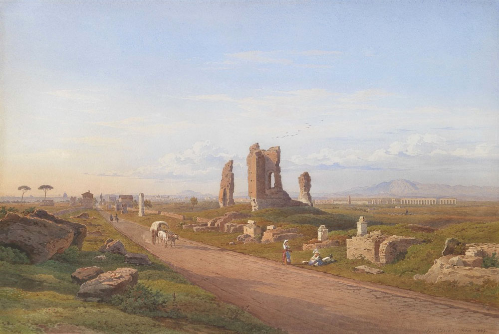 Salomon Corrodi, La Via Appia