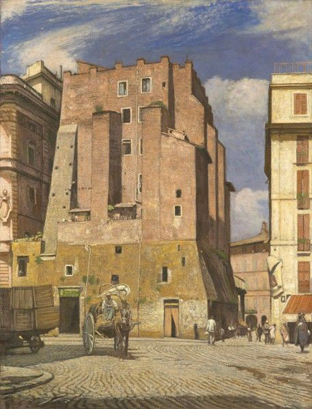 Sydney Lee, The Red Tower (Torre dei Conti)