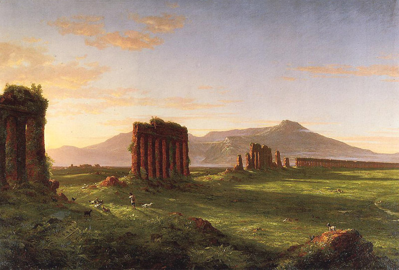 Thomas Cole, Campagne romaine