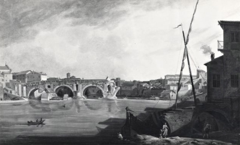 William Marlow, Vue sur le Ponte Rotto
