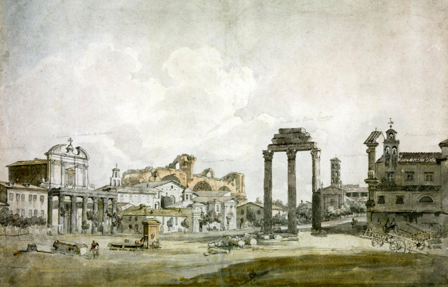 William Pars, Le Forum