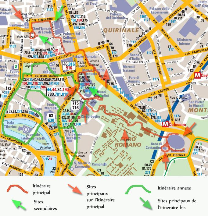 Itineraire Pour Visiter Rome En 1 Jour