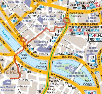 Itinéraire un jour à Rome - partie 3