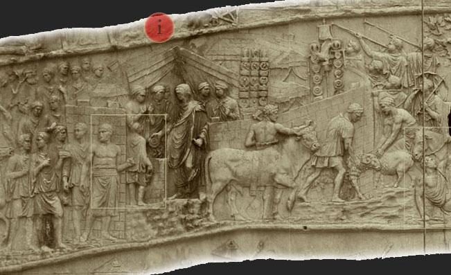 colonne de trajan - cérémonie du sacrifice