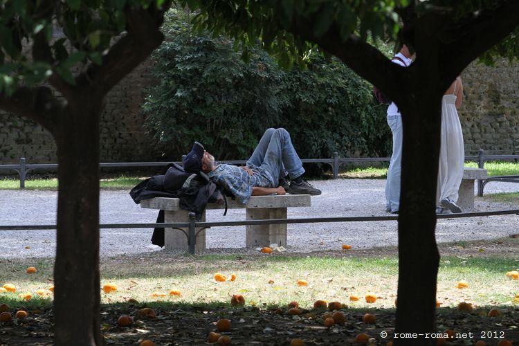 jardin des orangers aventin
