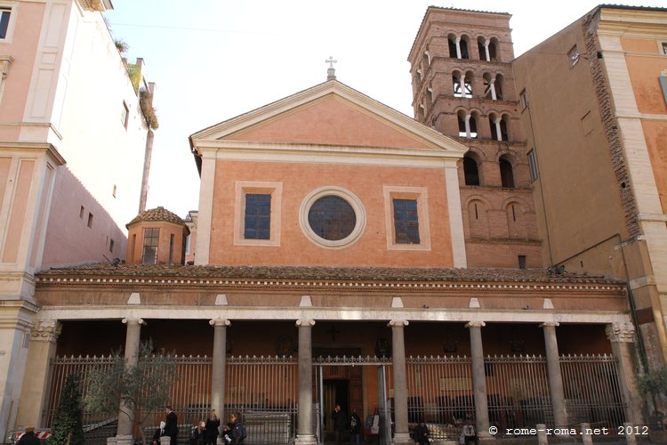Basilique San Lorenzo in Lucina