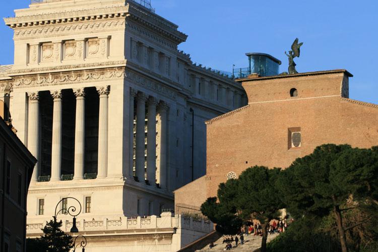 rome - centre antique, colline du Capitole