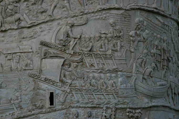 reliefs colonne trajan