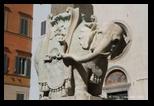 piazza minerva - elefanto del bernino