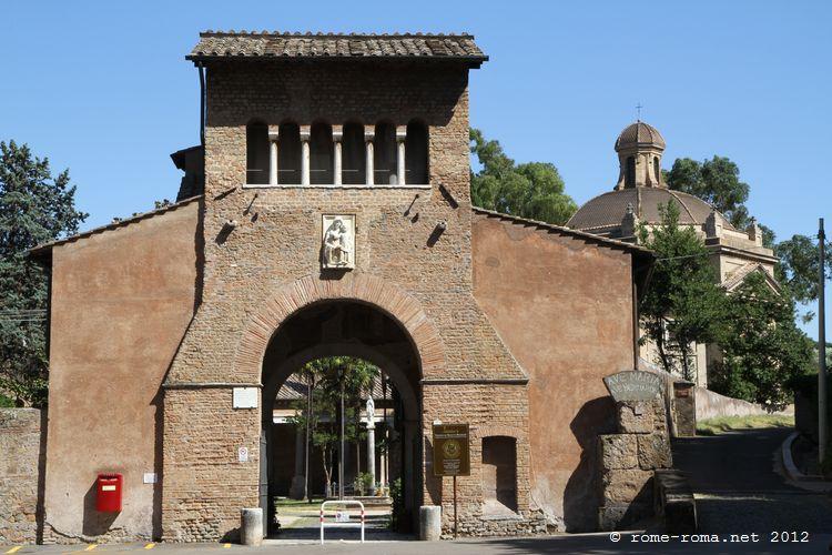 abbaye des trois fontaines à Rome