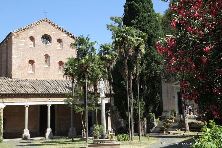 Rome Chrétienne et ses monuments - EUGENE DE LA GOURNERIE - 1867 Chiesaabbaziale_abbaziadelletrefontane_0593