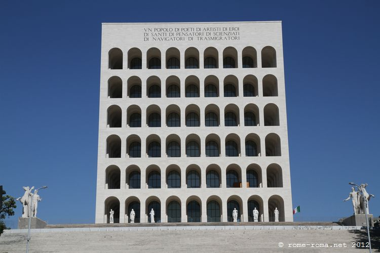 Palazzo della Civiltà Italiana, EUR