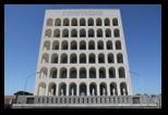 le quartier de l'EUR à Rome
