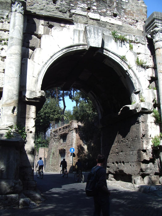 Arc de Drusus, Porte Saint-Sébastien