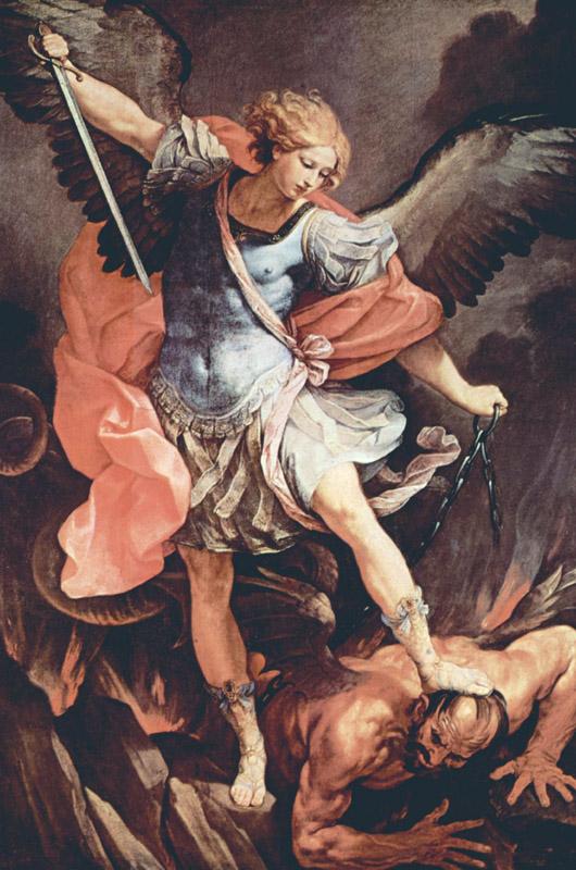 archange saint-michel de Guido Reni