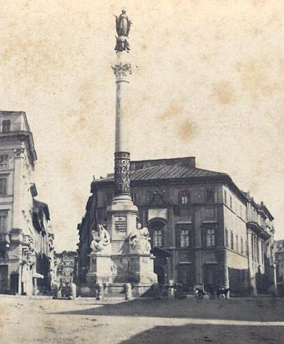 colonne de l'immaculée conception à rome