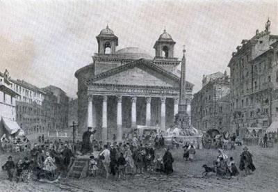 panthéon en 1870