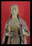 Statue en bois de Madeleine (XVe siècle) - Santa Maria Maddalena