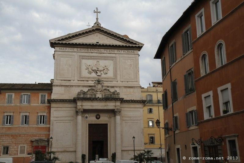 Rome Chrétienne et ses monuments - EUGENE DE LA GOURNERIE - 1867 San_salvatore_in_lauro_5585