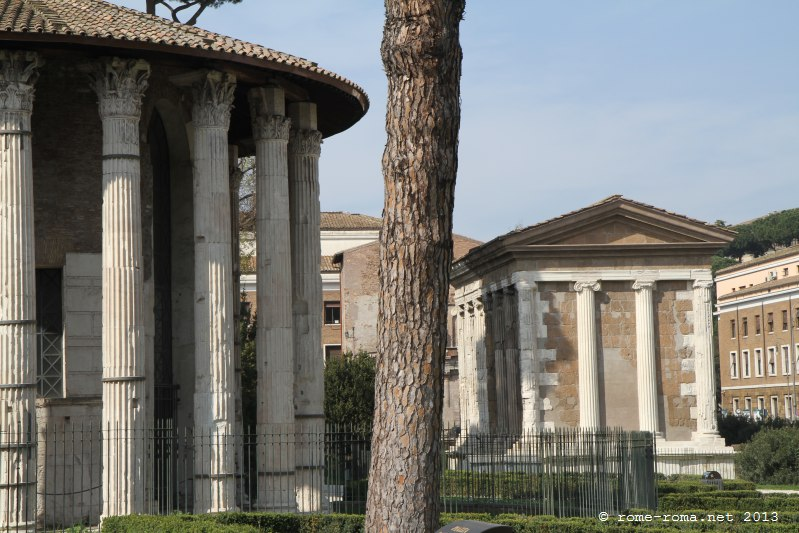 forum boarium - temple de vesta