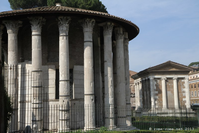 Temple d'Hercule Victor, forum Boarium
