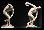 Discobole - statues et sculptures au musée national romain du palais massimo