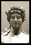 Statue en bronze de Dionysos - statues et sculptures au musée national romain du palais massimo