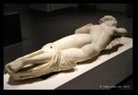 Hermaphrodite endormi - statues et sculptures au musée national romain du palais massimo