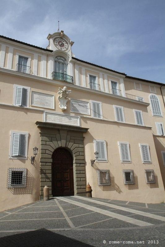 Palais des papes de Castel Gandolfo