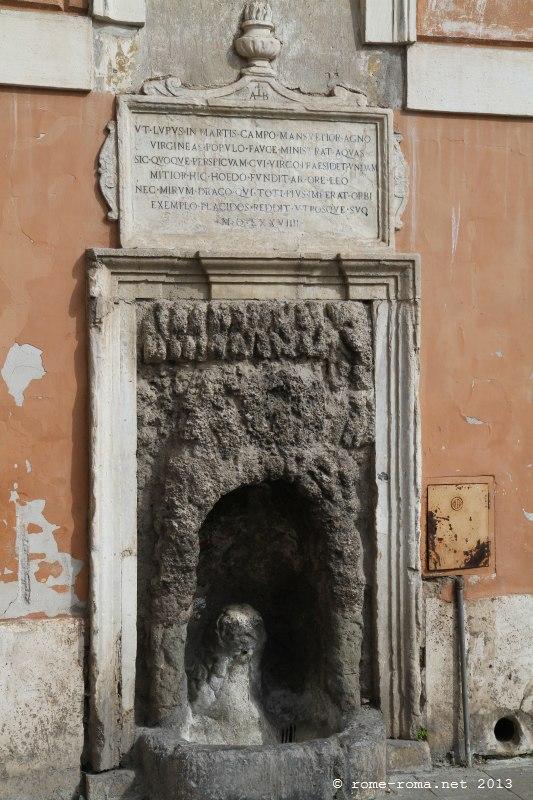 fontaine san salvatore in lauro