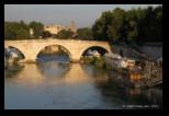 lungotevere, pont cestio et ile tibérine