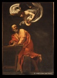 Saint Matthieu et l'ange (Le Caravage) Saint Louis des Français
