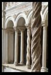Cloitre du latran à Rome