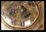 abside et les fresques de Domenicho - église sant andrea della valle