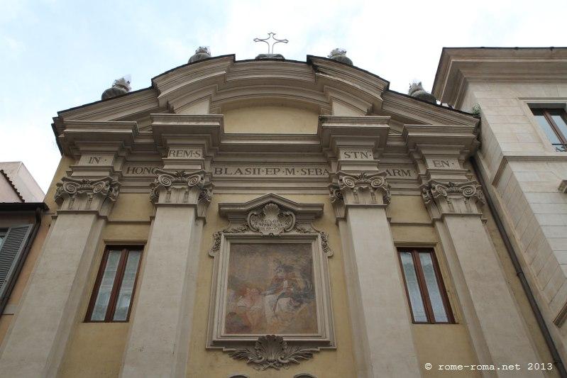 Saint-Blaise-des-Arméniens et Palazzo dei Tribunali