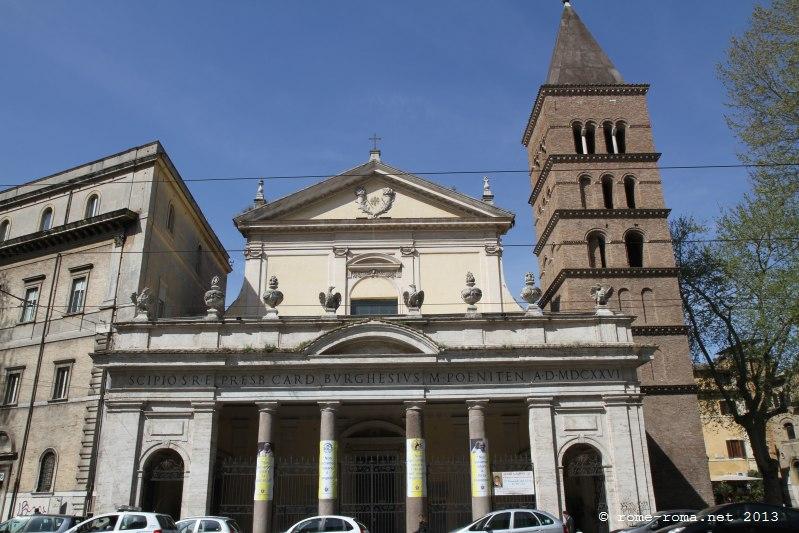 basilique san crisogono à rome