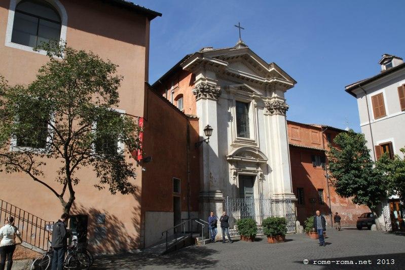 Place et église Sant'Egidio