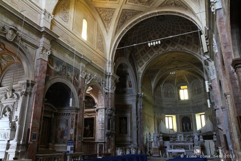 Rome Chrétienne et ses monuments - EUGENE DE LA GOURNERIE - 1867 San_pietro_in_montorio_5806