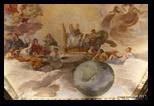 Plafond d'Andrea Sacchi, la Divina Sapienza - Galerie Palazzo Barberini