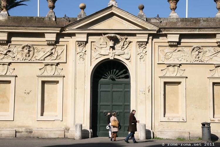 prieuré de Malte - colline de l'Aventin