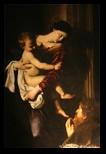 Madonna di Loreto, Le Caravage sant agostino