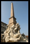 fontaine des quatre fleuves - piazza navona