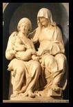 Sainte Anne et la Madone à l'enfant - sant agostino